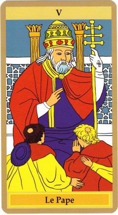 Le Pape, le souverain pontife, établit un pont entre le monde divin et celui des humains