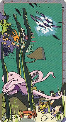 le mandala d'Eau dans la carte Mer