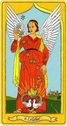 merveilleux ange protecteur, Lelahel