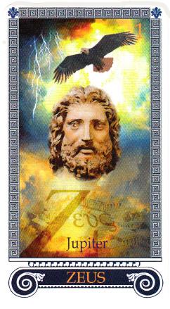 l'attribut du patron des dieux grecs, Zeus