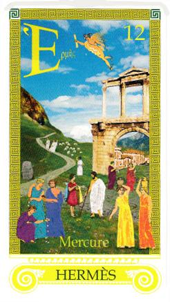 Hermès, envoyé spécial ailé du tout-puissant Zeus