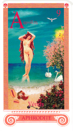 déesse Vénus, Aphrodite chez les Grecs