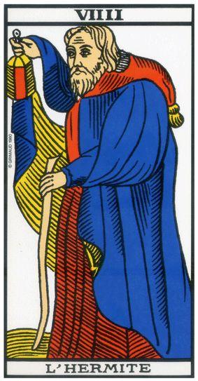 On peut associer l'Hermite au signe astrologique du Capricorne,