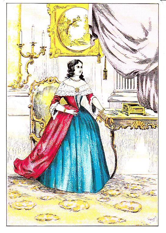 Mlle Lenormand a été la voyante de Joséphine de Beauharnais